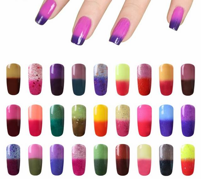 Актуальные рисунки и расцветки в дизайне ногтей
