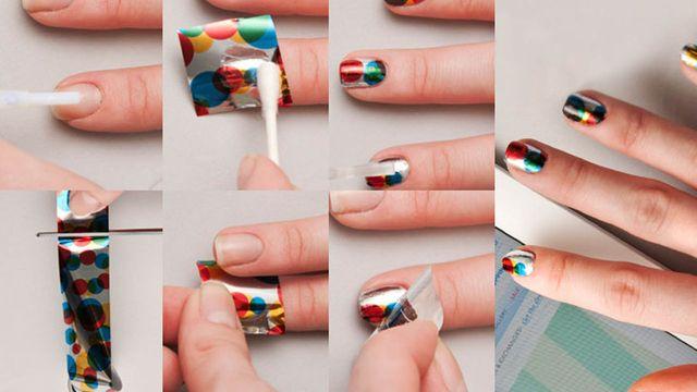 Стеклянный маникюр, как сделать и примеры