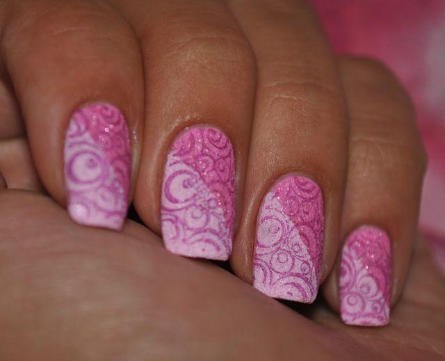 Стемпинг-дизайн ногтей